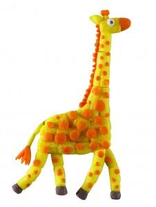 PlayMais jirafa