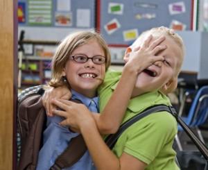 Friends back to school