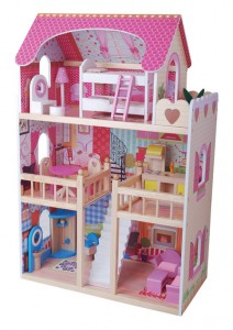 Maxi house casa grande delle bambole Eurekakids