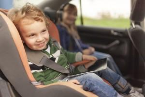 Viajando con niños tablet