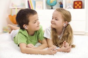 Socialización niños y música
