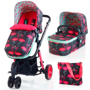 Cosatto giggle 2 travel system flamingo fling