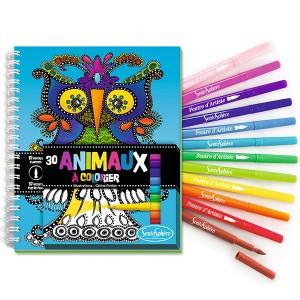 Cuaderno pinta-animales