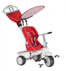 Smart Trike Recliner red gray