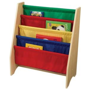 Biblioteca de bolsillos colores primarios Kidkraft
