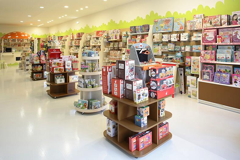 Interior tienda Eurekakids