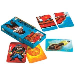 Jogo de cartas piratatak Djeco