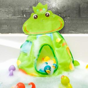 Ranita guarda juguetes de baño