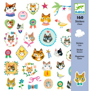 Stickers gatos Djeco