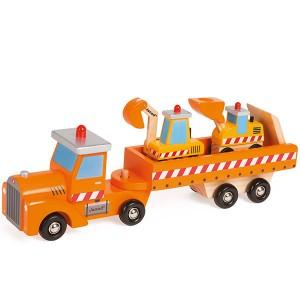 Camión porta-grúas Janod