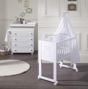 Minicuna Micuna y textiles para bebés