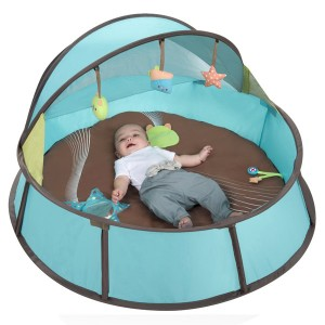 Tenda 2 em 1 para dormir e brincar anti-uv azul Babymoov