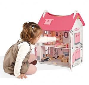 Janod - Casa de muñecas natura