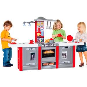 Cocina Moltó electrónica con 3 módulos y 21 accesorios