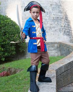Disfraz pirata bucanero deluxe Eurekakids
