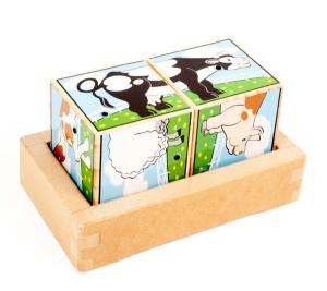 Puzzle de madeira Eurekakids