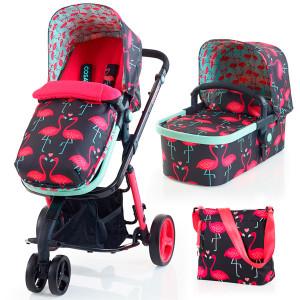 Cosatto - Conjunto de sillita de paseo giggle 2 travel system flamingo fling