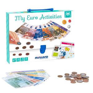 Brinquedos de matemática - Mala activity euro Eurekakids