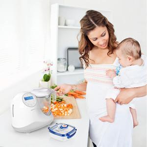 Robot de cocina chefy 5 silver Miniland Baby
