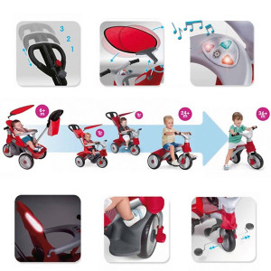 Triciclo Feber baby trike easy evolution