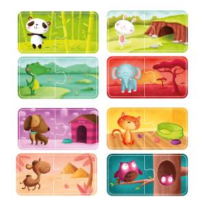 Puzzle de animales Eurekakids