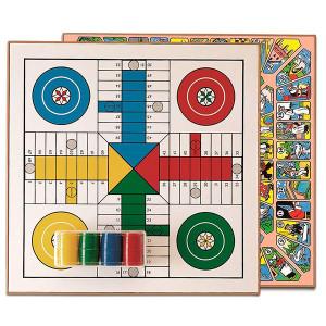 Tabuleiro parchis oca - Jogos de mesa clássicos