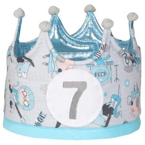 Corona de cumpleaños para niños