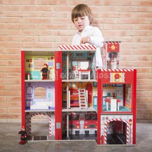 Estación de bomberos de juguete