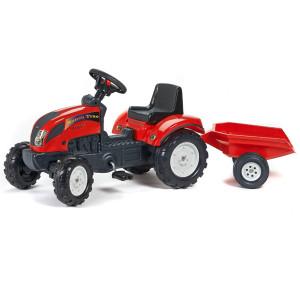 tractor-rojo-a-pedales-con-remolque