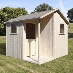 casita-de-madera-lisa