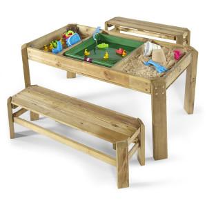 Mesa madera arena Plum