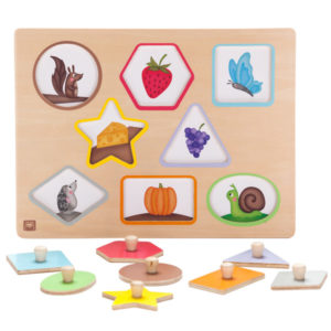 Puzzles evolutivos infantiles