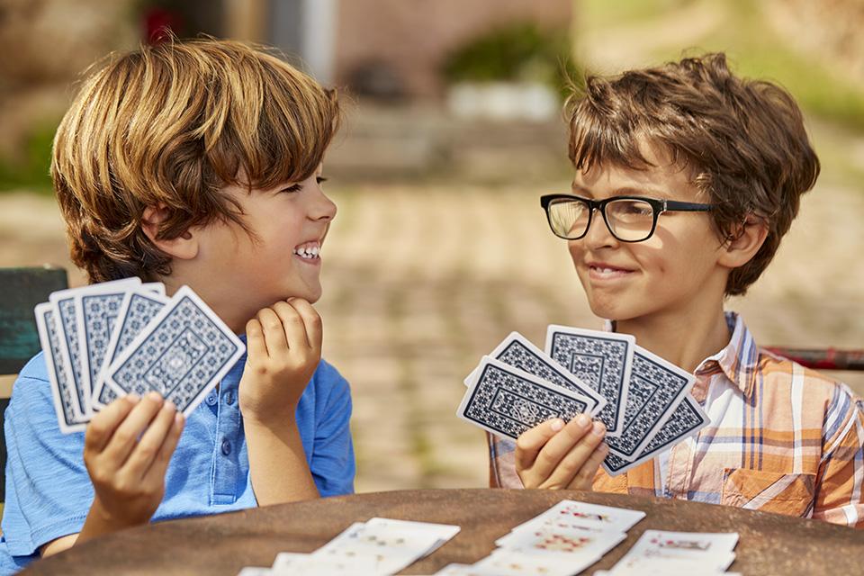 Juegos de cartas para niños