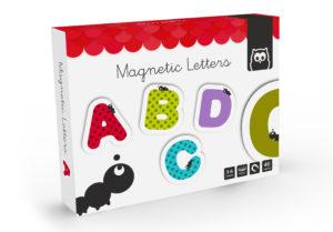 Letras magnéticas para jugar