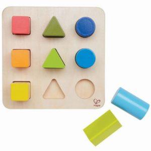 Juguetes de madera método Montessori