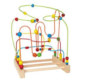 Laberinto de bolas Montessori
