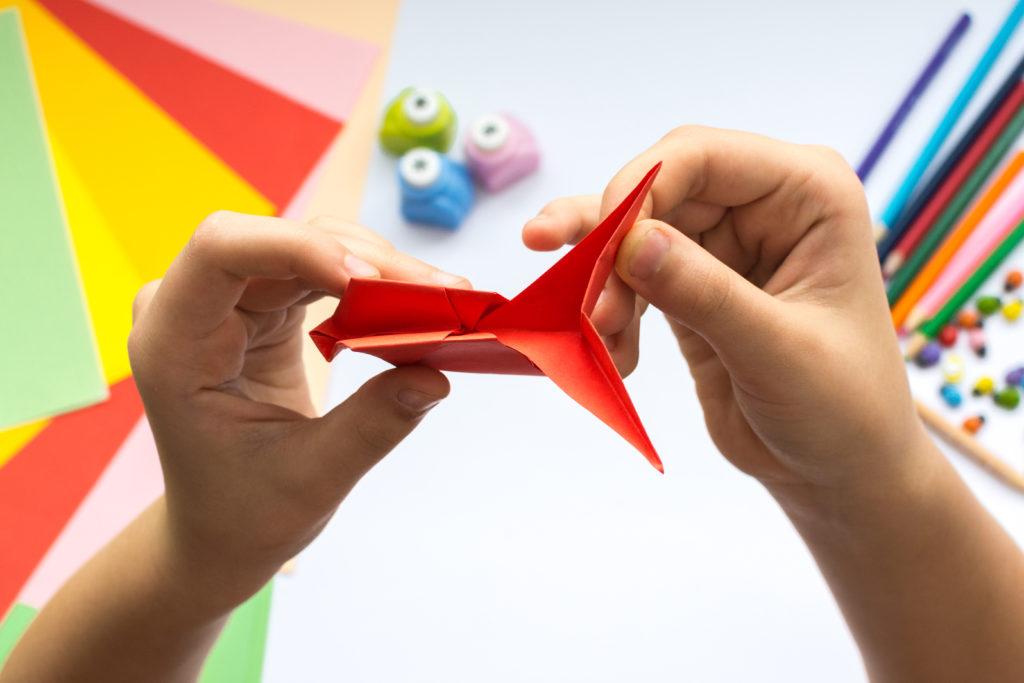 Juegos de papiroflexia para niños
